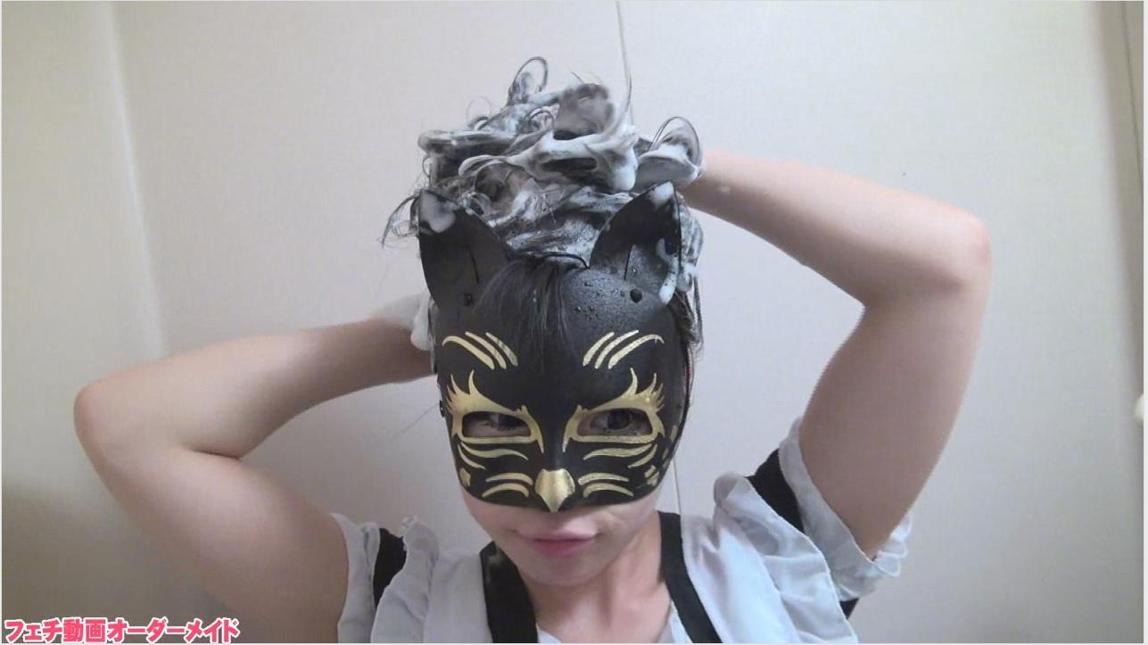 洗髪フェチ動画
