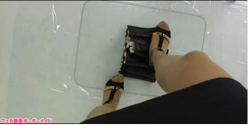 女性の脚フェチ