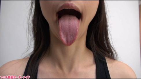 女の子の舌フェチ写真