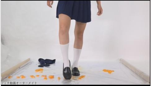 女子高生のフークラ動画