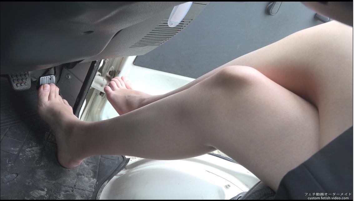 裸足でのペダルパンピング