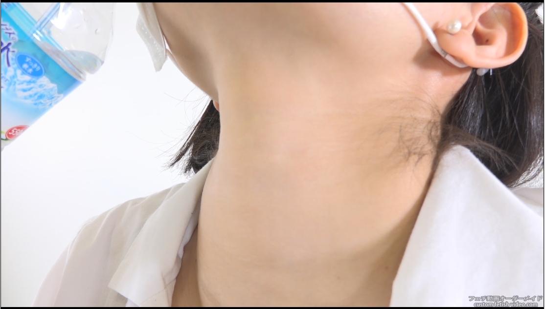 喉仏フェチビデオ