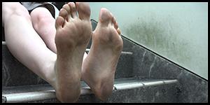 女性の足裏が好き